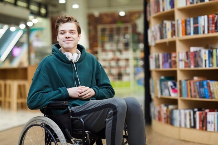 Disabled student in Canada